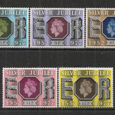 Anglia.1977 25 ani de Regenta SA.359 - Timbre straine, Nestampilat