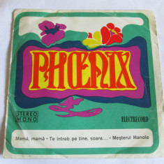 VINIL SINGLE FORMATIA PHOENIX 1973 - Muzica Rock electrecord