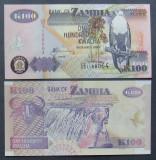 ZAMBIA 2009 - BANCNOTA 100 KWACHA (UNC) - BC 36