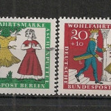 Berlin.1965 Bunastare-Povesti de fratii Grimm SB.742 - Timbre straine, Nestampilat