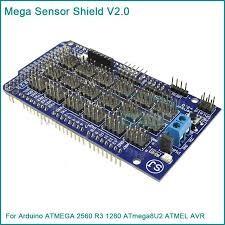 Arduino mega atmega senzor prototype shield v2 breadboard pini multipl foto