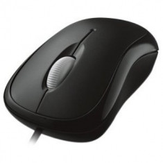 BASIC OPTICAL Mouse Microsoft MAC/WIN USB -Negru