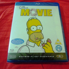 The Simpsons Movie Bluray - Film animatie Altele, Engleza