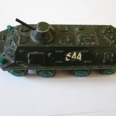 MACHETA TANC METALIC RUSESC DIN ANII 80 - Macheta auto, 1:50