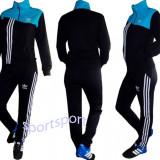 Trening Adidas pentru dama!Oferta unica! - Trening dama Adidas, Marime: S, Culoare: Negru, Bumbac