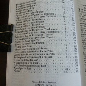 NOUL TESTAMENT - The Gideons International - St. Michel Print, 2005, 384 p.