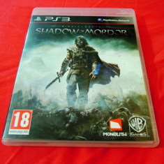 Joc Middle Earth Shadow of Mordor, PS3, original, alte sute de jocuri! - Jocuri PS3 Altele, Actiune, 18+, Single player