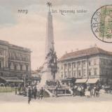 ARAD , STATUIA HAROMSAG , CIRCULATA JUL. ''907 , TCV