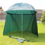 Umbrela FL Shelter Tip Cort Marime 2, 50 Metri Impermeabila Cu Paravan + Husa