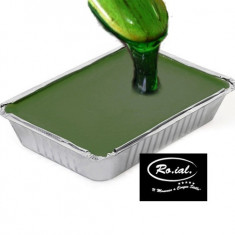 Ceara epilat la tava 1 kg verde ROIAL Italia, ceara depilatoare - Ceara epilare