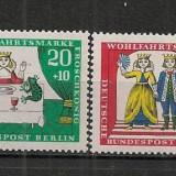 Berlin.1966 Bunastare-Povesti de fratii Grimm SB.743 - Timbre straine, Nestampilat