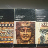 CIVILIZATIILE VECHIULUI ORIENT JEAN DESHAYES VOL, 1, 2, 3 - Istorie