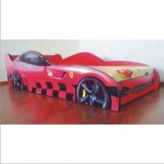 Pat copii Ferrari - Pat tematic pentru copii Altele, Altele, Alte dimensiuni, Rosu