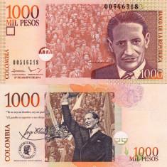 COLUMBIA 1.000 pesos 2014 UNC!!!