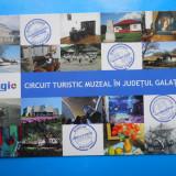 HOPCT 15005 N GALATI -CIRCUIT TURISTIC MUZEAL -NECIRCULATA - Carte Postala Moldova dupa 1918, Printata