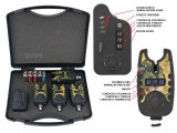 Set Statie 4 Avertizoare wireless TLI 22 + Receptor Baracuda Spider Edition 9v, Swingere