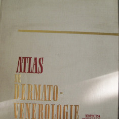 ATLAS DE DERMATO-VENEROLOGIE AUREL CONU,ALEXANDRU COLTOIU