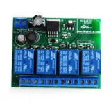 Modul shield 4 canale relee 5v 12v bluetooth ble 4.0 wireless remote control