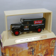 GMC Van 1937 - Bere Steinlager, Matchbox Yesteryear - Macheta auto