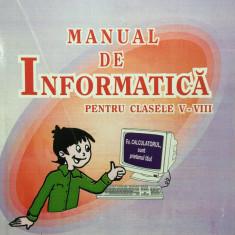 MANUAL DE INFORMATICA CLASELE V-VIII - Doru Popescu Anastasiu