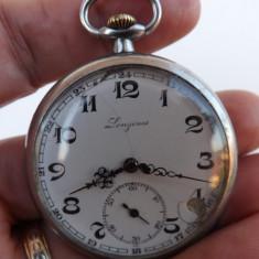Ceas de buzunar Elvetian, marca Longines.Functioneaza perfect.Reducere! - Ceas de buzunar vechi