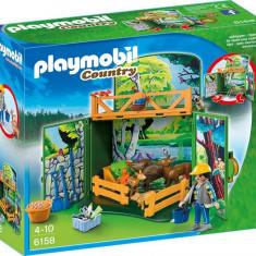Cutie De Joaca - Animalele Padurii Playmobil