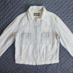 Geaca Armani Jeans Indigo Made in Italy; marime 52, vezi dimensiuni; ca noua - Geaca barbati Armani, Culoare: Din imagine