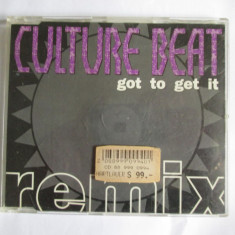 CD CULTURE BEAT ALBUMUL GOT TO GET IT REMIX, SONY MUSIC GERMANY 1993 - Muzica Dance