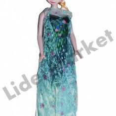 Papusa Elsa Frozen 56cm, 4-6 ani, Plastic, Fata