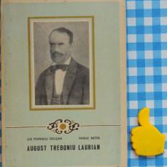 August Treboniu Laurian - Biografie