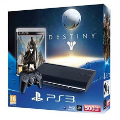 Consola Sony Ps3 Slim 500Gb Plus Joc Destiny - Consola PlayStation Sony, PlayStation 3