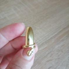 Inel Unghie Falsa Model Sarpe auriu - Inel fashion