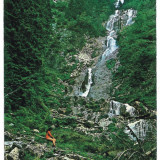7529 - Romania ( 461 ) - Maramures, BORSA, waterfall - postcard - used - 1975