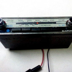 Radio auto vechi 1970 Blaupunkt mic Colmar 7630075 f.rar este functional