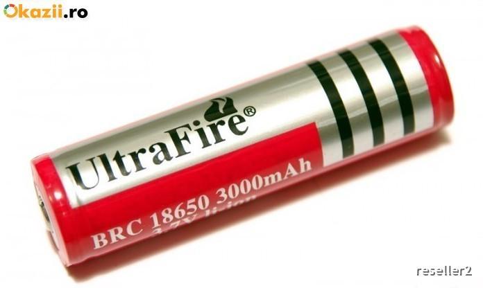 Baterie / Acumulator Li- Ion Ultrafire 3000 Mah 18650(946)