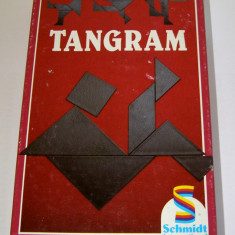 Joc de perspicacitate / logica / matematica distractica - joc traditional chinezesc Tangram(622)