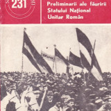 Dumitru Sultan - Preliminarii ale fauririi Statului National Unitar Roman - 35749