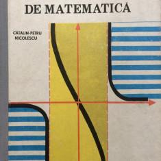 TESTE RECAPITULATIVE DE MATEMATICA - Catalin-Petru Nicolescu - Teste Bacalaureat