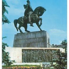 7521 - Romania ( 464 ) - CLUJ NAPOCA, statue Mihai Viteazul - postcard - unused - Carte Postala Transilvania dupa 1918, Necirculata, Printata