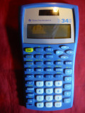 Minicalculator stiintific Texas Instruments TI 34 II , 15,5 x 8 cm