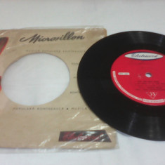 DISC VINIL VINYL DONA DUMITRU-SIMINICA EPC282 CAND TOCA LA RADU VODA RAR!!!1962 - Muzica Lautareasca