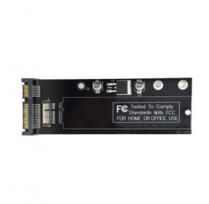 Adaptor convertor 12+6 pini SSD / HDD la SATA 22 pini Macbook Air 2010 / 2011