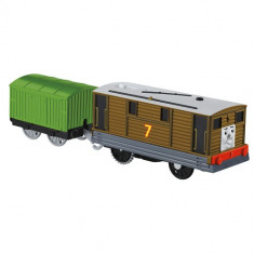 Locomotiva motorizata cu vagon Thomas&Friends - TOBY - BMK87-CDB70