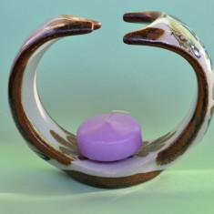INEDIT SFESNIC PENTRU O LUMANARE, MEXIC L121 - Arta Ceramica