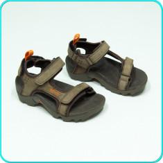 DE FIRMA _ Sandale comode, aerisite, frumoase, calitate TEVA _ baieti | nr. 27 - Sandale copii Teva, Culoare: Maro, Piele naturala
