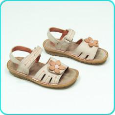Sandale din piele, comode, frumoase, aerisite, calitate ELEFANTEN _ fete   nr 26 - Sandale copii, Culoare: Roz, Piele naturala