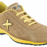 Pantofi de protecție FANTASY S1P HRO SRC, bombeu compozit - Pantofi barbat Fantasy, Marime: 38, 39, 40, 41, 42, 43, 44, 45, 46, 47, 48, Culoare: Maro, Piele sintetica