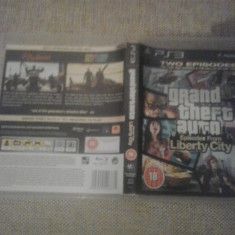 Grand Theft Auto - Episodes from Liberty City GTA - PS3 - Jocuri PS3, Actiune, 18+, Single player