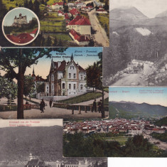 BRASOV , LOT 5 CARTI POSTALE, Ambele, Printata, Romania 1900 - 1950
