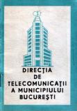 Broşură cu prefixe şi numere speciale Romtelecom 1988
